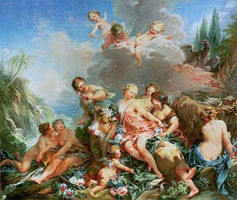 The Rape of Europa, c.1732/34 by Boucher | Painting Reproduction