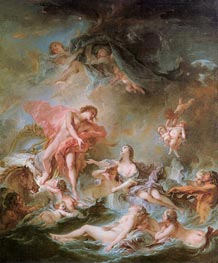 The Setting of the Sun | Boucher | Painting Reproduction