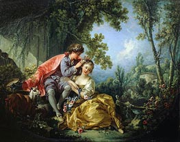 The Four Seasons: Spring, 1755 by Boucher | Painting Reproduction