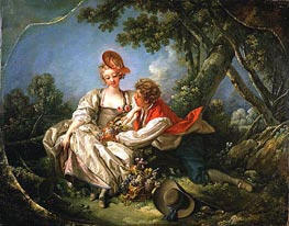 The Four Seasons: Autumn, 1755 by Boucher   Painting Reproduction
