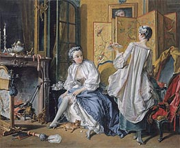 La Toilette, 1742 by Boucher | Painting Reproduction