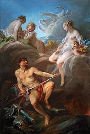 Venus Asking Vulcan for the Armour of Aeneas, 1732 by Boucher | Painting Reproduction