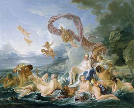 The Triumph of Venus, 1740 by Boucher | Painting Reproduction