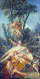 Cupid a Captive, c.1754 by Boucher | Painting Reproduction