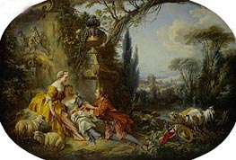 The Delights of Life in the Country, 1892 by Boucher | Painting Reproduction