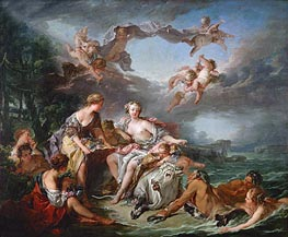 The Rape of Europe, 1774 by Boucher | Painting Reproduction