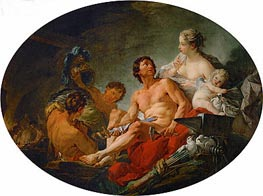 Vulcan's Forge, 1747 by Boucher | Painting Reproduction