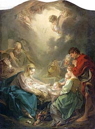 The Light of the World (Nativity), 1750 by Boucher | Painting Reproduction