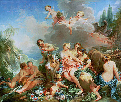The Rape of Europa, c.1732/34 | Boucher | Painting Reproduction