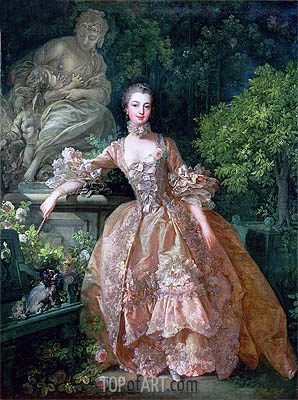Madame de Pompadour, 1759 | Boucher| Painting Reproduction