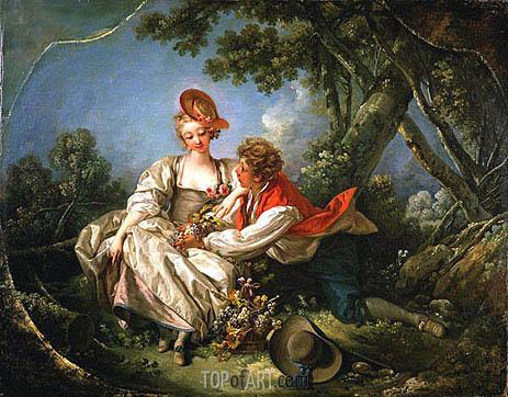 Boucher | Die vier Jahreszeiten: Herbst, 1755