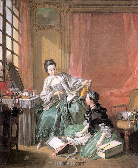 The Milliner, 1746 | Boucher | Painting Reproduction