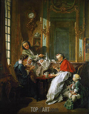 The Luncheon, 1739 | Boucher | Painting Reproduction