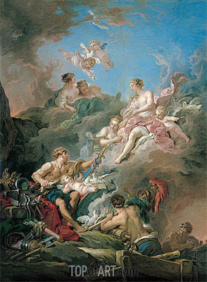 Venus at Vulcan's Forge, 1769 | Boucher | Painting Reproduction
