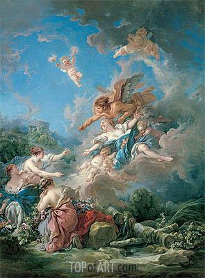 Boucher | Boreas Abducting Oreithyia, 1769