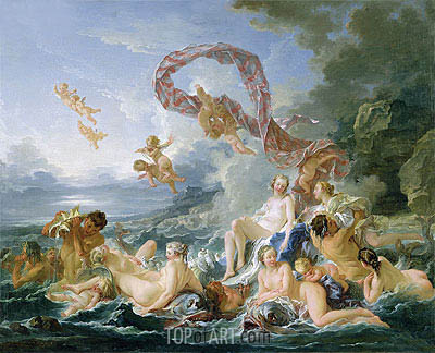 The Triumph of Venus, 1740 | Boucher | Painting Reproduction