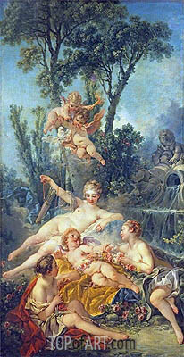 Cupid a Captive, c.1754 | Boucher | Painting Reproduction