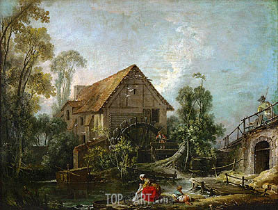 Boucher | The Mill, 1751