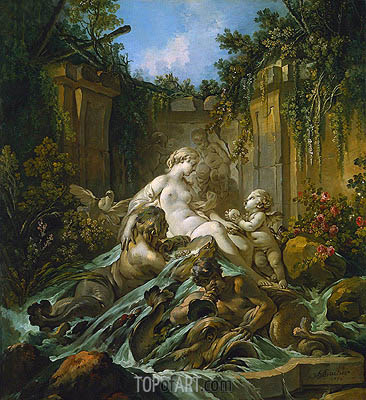 Fountain of Venus, 1756 | Boucher| Painting Reproduction