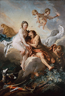 Aurora and Cephalus, undated | Boucher| Painting Reproduction