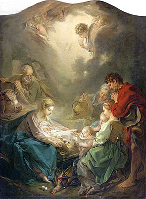 The Light of the World (Nativity), 1750 | Boucher | Painting Reproduction
