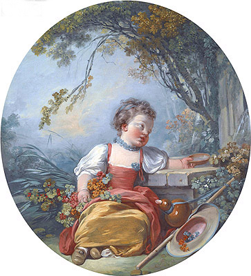The Little Pilgrim, c.1755/60 | Boucher| Painting Reproduction