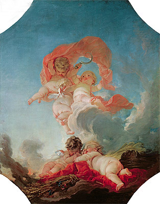 Summer, undated | Boucher| Painting Reproduction