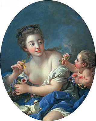 Venus and Cupid, 1769 | Boucher| Painting Reproduction