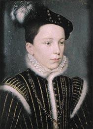Francois Duc d'Alencon, 1561 by Francois Clouet | Painting Reproduction