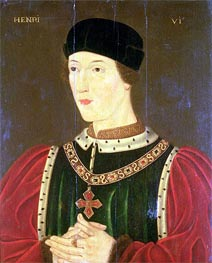 Henry VI of England | Francois Clouet | Painting Reproduction