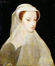 Mary Queen of Scots in White Mourning | Francois Clouet | outdated