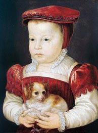 Hercule-Francois, Duke of Alencon, Anjou and Brabant, c.1556/58 by Francois Clouet | Painting Reproduction