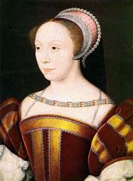 Francoise Breze- Duchesse de Bouillon, 1550 by Francois Clouet | Painting Reproduction