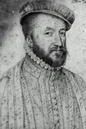 Louis de Saint-Galais, Seigneur de Lansac, undated by Francois Clouet | Painting Reproduction