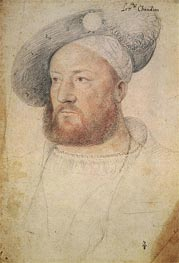 Louis de Chandio Lord of Bussy, c.1520 by Francois Clouet | Painting Reproduction