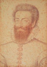 Philippe-Emmanuel de Lorraine Vaudemont, c.1590 by Francois Clouet   Painting Reproduction