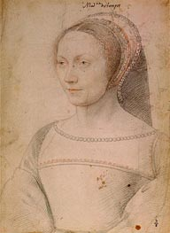 Anne de Pisseleu, c.1540 by Francois Clouet | Painting Reproduction