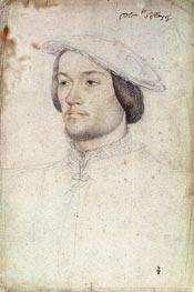 Portrait of Jean de Brosse duc d'Etampes, c.1540 by Francois Clouet | Painting Reproduction