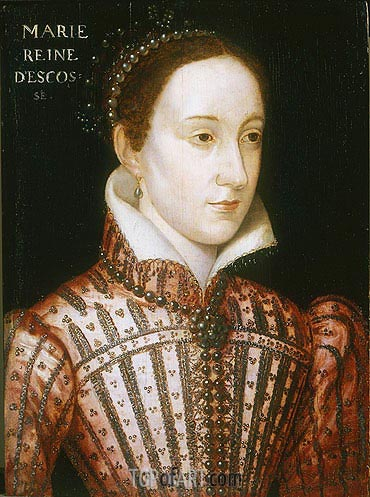 Mary Queen of Scots, c.1559 | Francois Clouet| Painting Reproduction