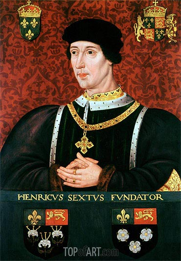 Portrait of Henry VI of England, undated | Francois Clouet| Painting Reproduction