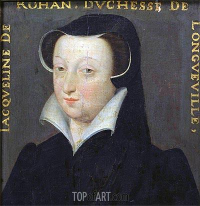 Jacqueline de Rohan Duchesse de Longueville, undated | Francois Clouet | Painting Reproduction