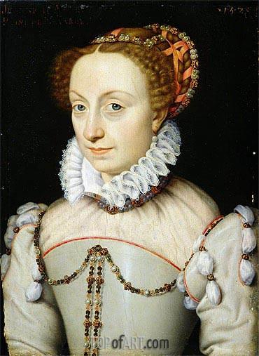 Francois Clouet | Jeanne III d'Albret Queen of Navarre, 1570