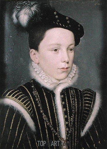 Francois Clouet | Francois Duc d'Alencon, 1561