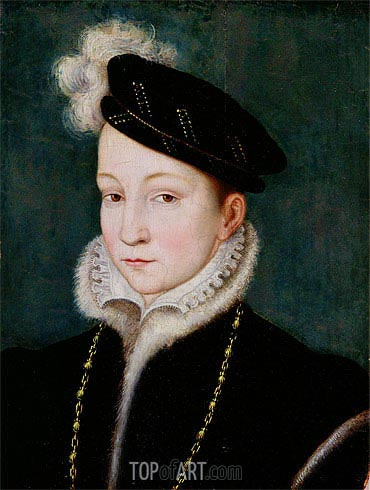 Francois Clouet | Portrait of Francois II, c.1553