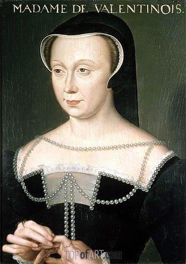 Francois Clouet | Madame de Valentinois, undated