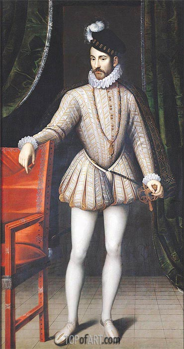 Charles IX King of France, undated | Francois Clouet | Painting Reproduction