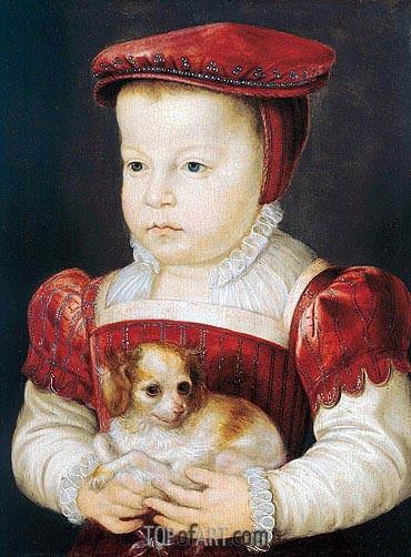 Francois Clouet | Hercule-Francois, Duke of Alencon, Anjou and Brabant, c.1556/58
