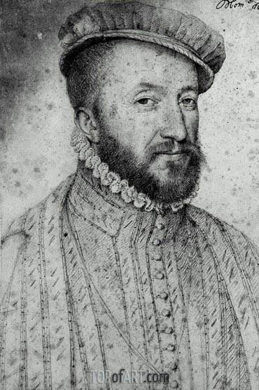 Francois Clouet | Louis de Saint-Galais, Seigneur de Lansac, undated