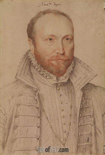 Francois Clouet | Portrait of Antoine de Crussol Duc d'Uzes, undated