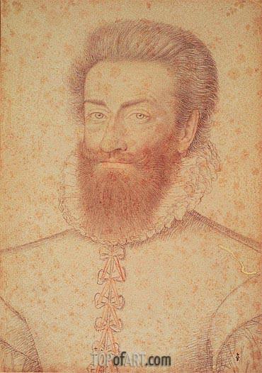 Philippe-Emmanuel de Lorraine Vaudemont, c.1590 | Francois Clouet | Painting Reproduction